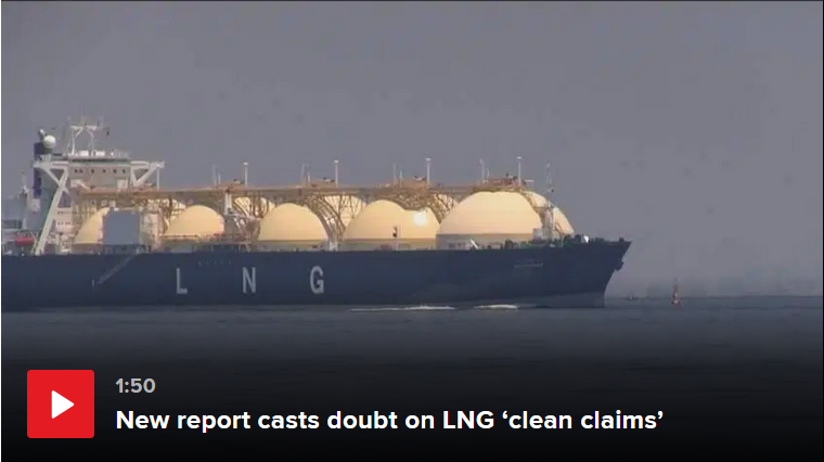 LNG clean claims doubted