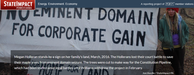 no eminent domain for corporate gain
