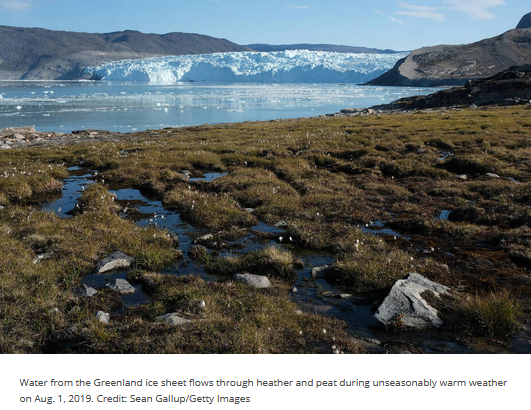 ice out Greenland