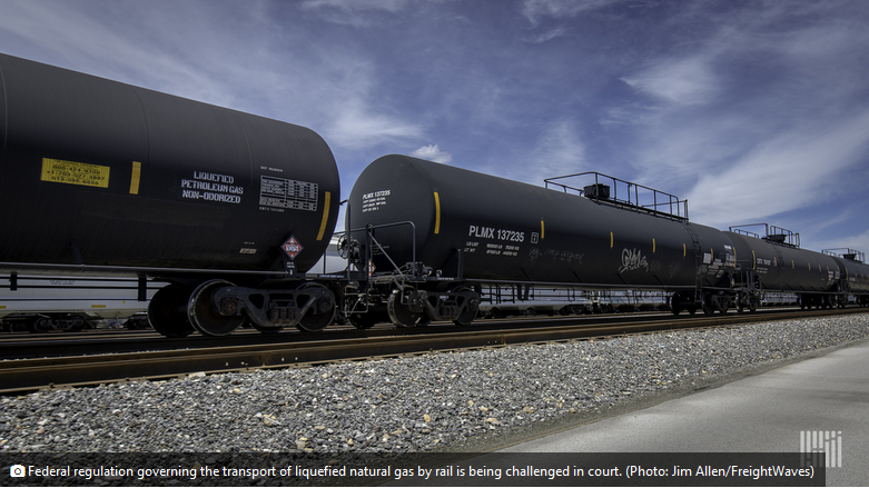 LNG by rail challenged