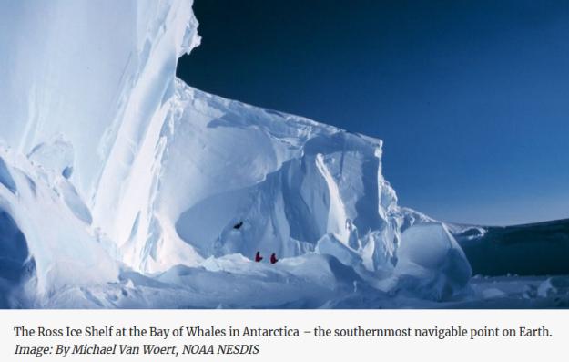 Antarctic ice loss modeled