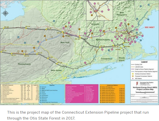 CT expansion project map