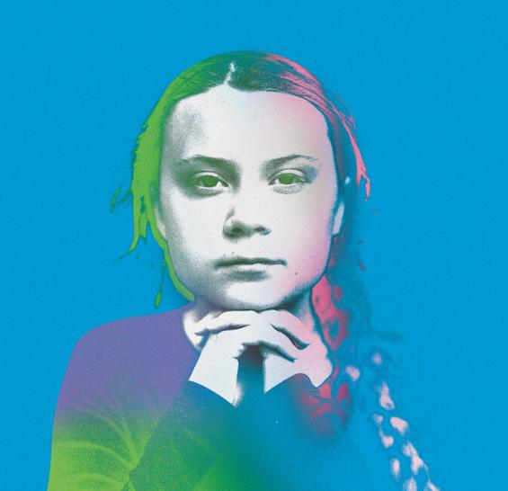 Greta illustration
