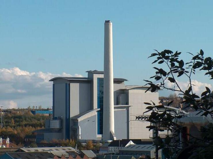 UK incinerator