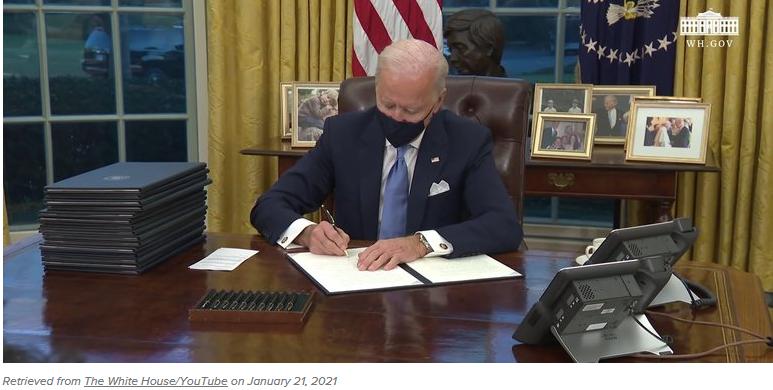 Biden exec orders on clean energy
