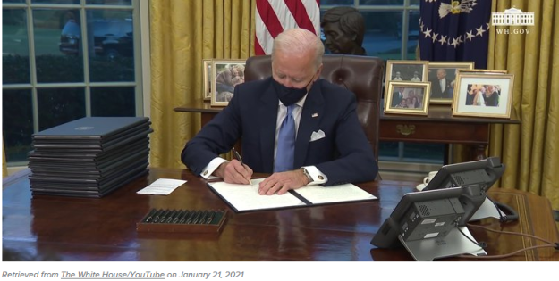 Biden exec orders on clean energy