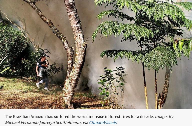 climate pariah Bolsonaro