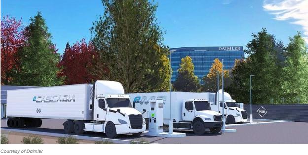 e-trucks trickle in