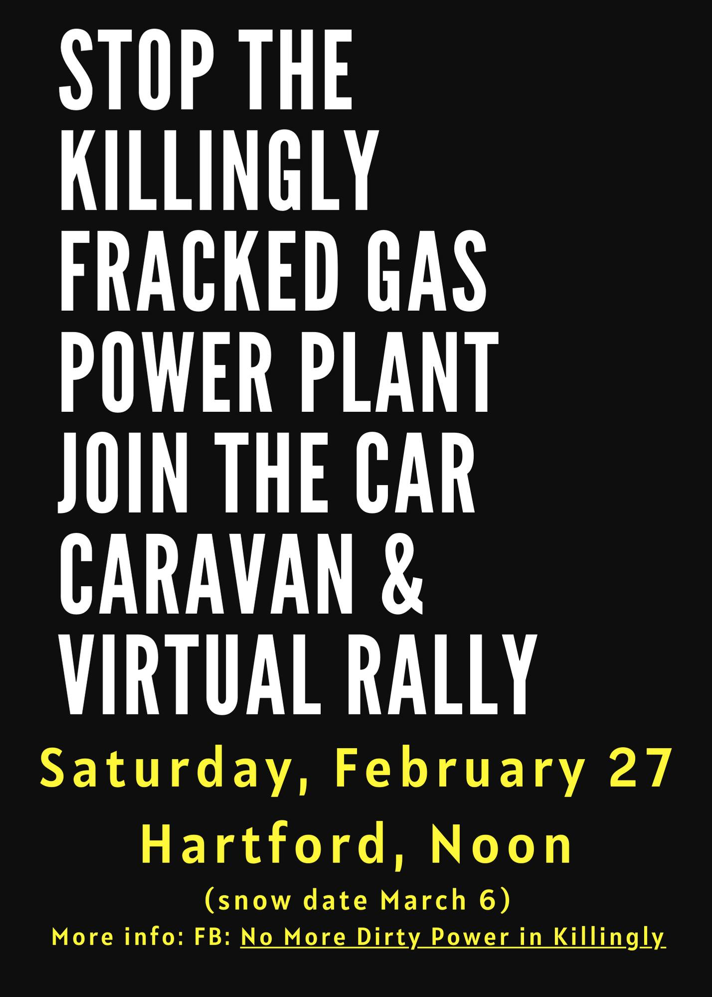 stop Killingly car caravan