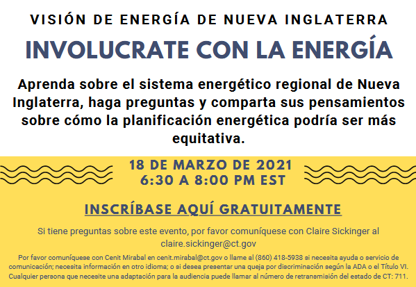 New England Energy Vision - Spanish