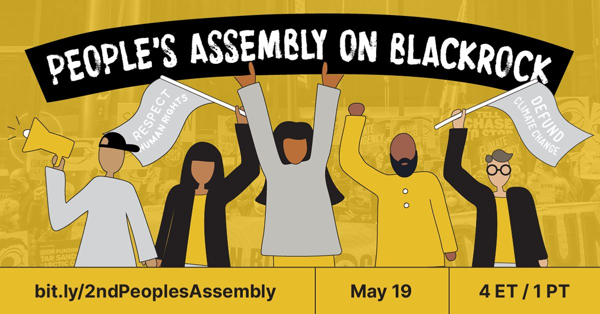 peoples assembly on Blackrock