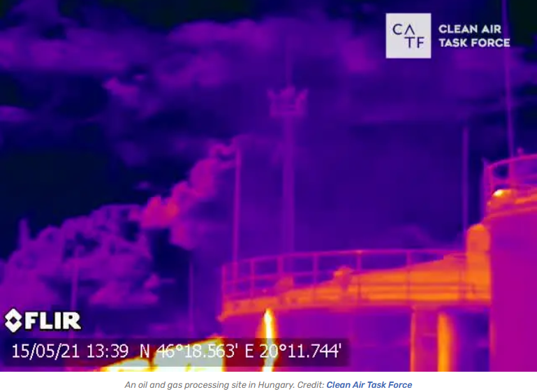 massive methane leaks
