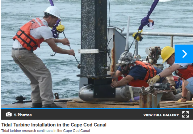 tidal turbine research