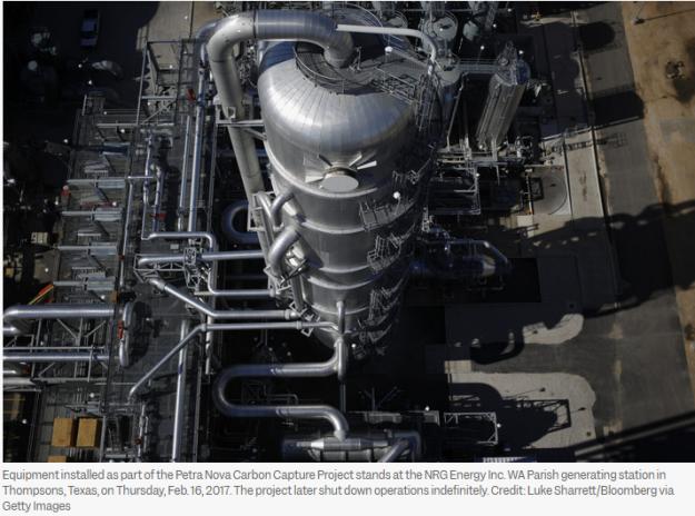 carbon capture project