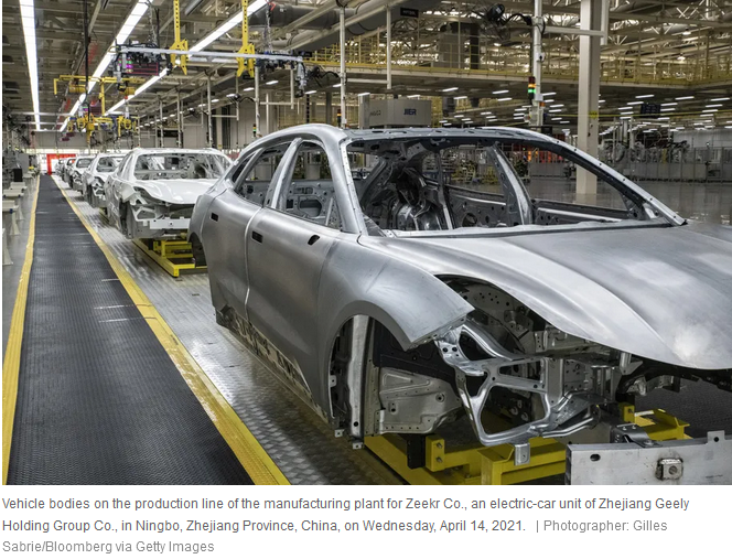 EV production line