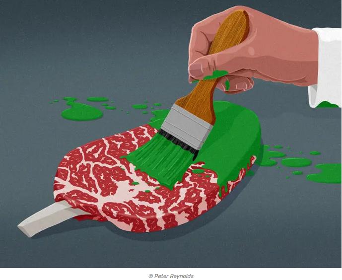 greenwashing meat