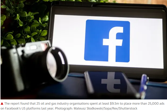 Facebook fossil influence