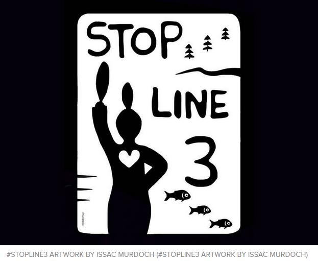Stop Line 3 artwork
