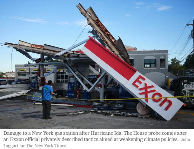 gas station damage