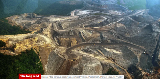 mountaintop-removal coal mining